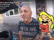 Proxenetul cel nervos: Un patron celebru de bordel s-a luat la harță în trafic (VIDEO)