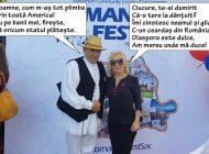 Româncuţa Boglarka: PSD-ista Lilla Boglarka Debelka s-a dat în spectacol în America, în numele Centenarului (FOTO)
