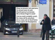 Secretosul Pásztor: Șeful Consiliului Județean Bihor își poartă discuțiile prin parcuri (FOTO)