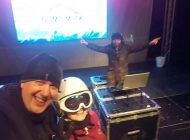 Serbările roşii: Managerul public al Bihorului a fost DJ la Serbările Zăpezii de la Vârtop (FOTO)