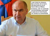 Singur acasă: Ilie Bolojan şi-a trimis colaboratorii în vacanţă şi conduce singur Primăria